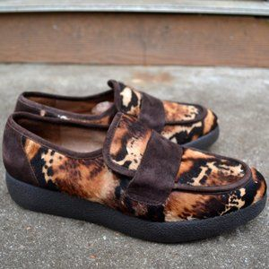 Donald J. Pliner cheetah loafers ( Flaw ) 8.5